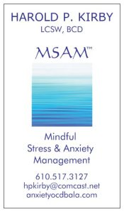 Mindful Meditation biz card