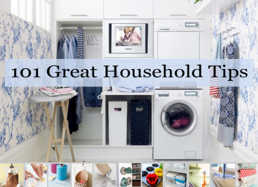 101 Household Tips for Every Room in your Home   Glamumous!