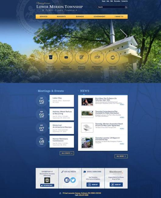 new township website