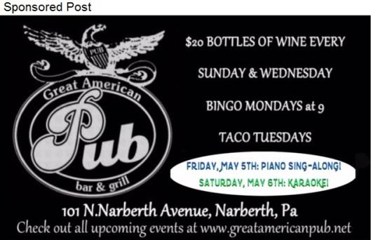 Great American Pub Sponsored post