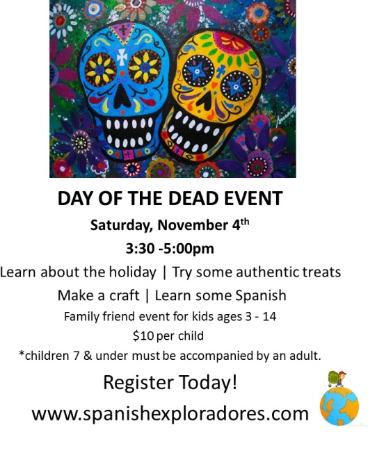 Spanish Exploradores Day of the Dead Ad Fall 2017