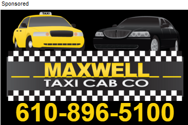 Maxwell Cab Sponsored